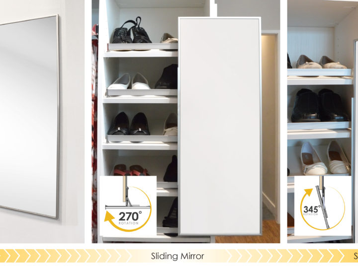 Mirror Mirror, On The Wall…On A Partition, Or Down the Hall