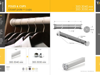 PRODUCT GUIDE U2013 CLOSET POLE