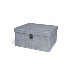 Engage Fabric Storage Box - Slate Colour