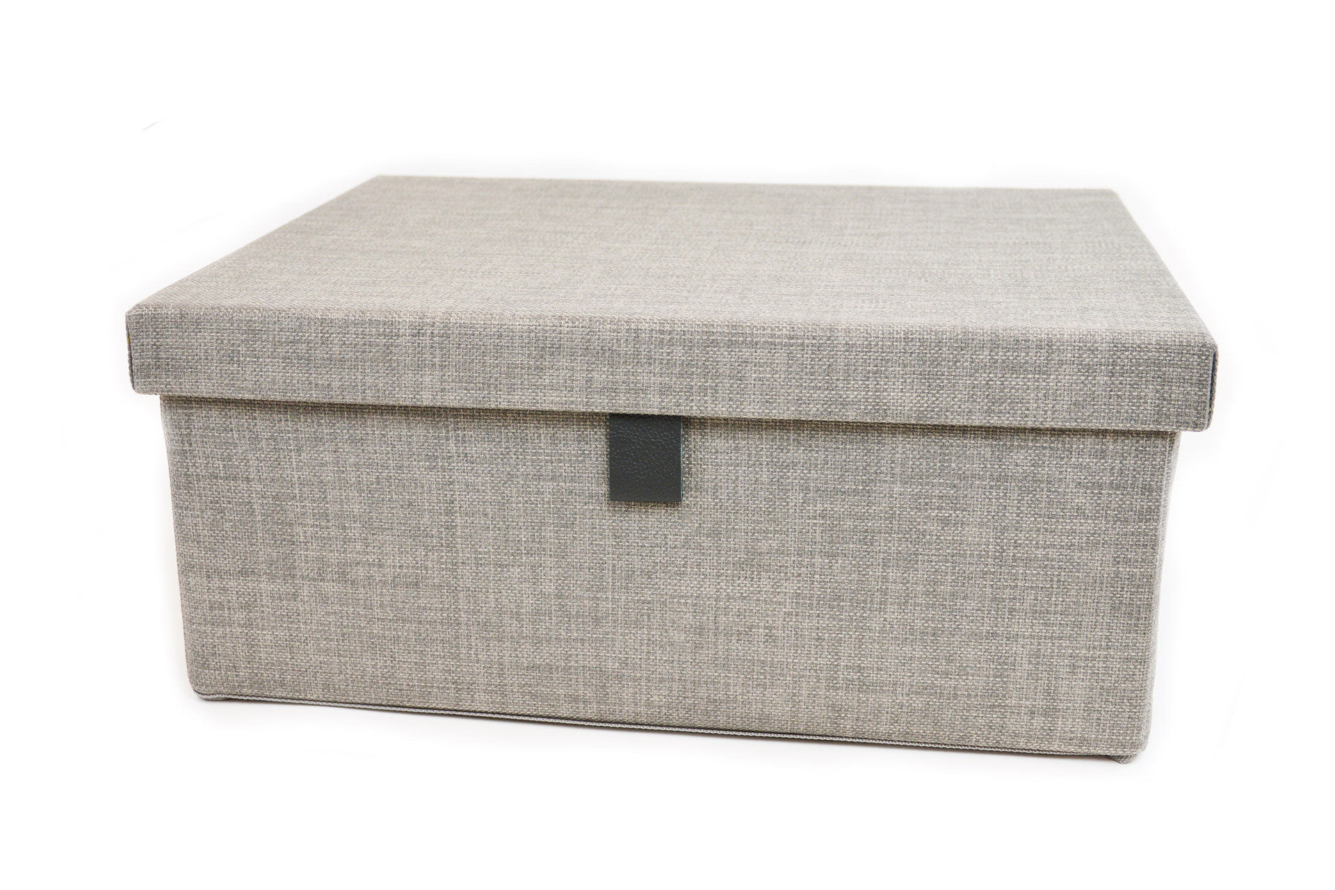 Engage Fabric Storage Box in Slate